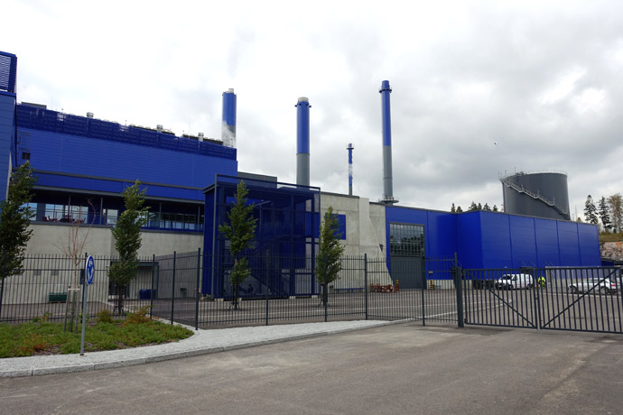 Предприятие waste-to-energy Vantaan Energia